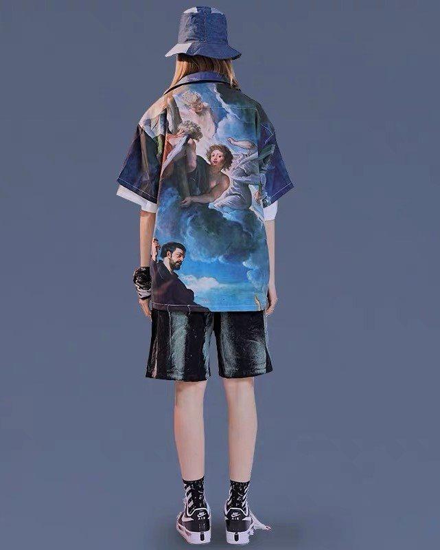 ミラクルザビエル半袖シャツの画像7